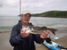 A fly caught Bass from Aberdaron